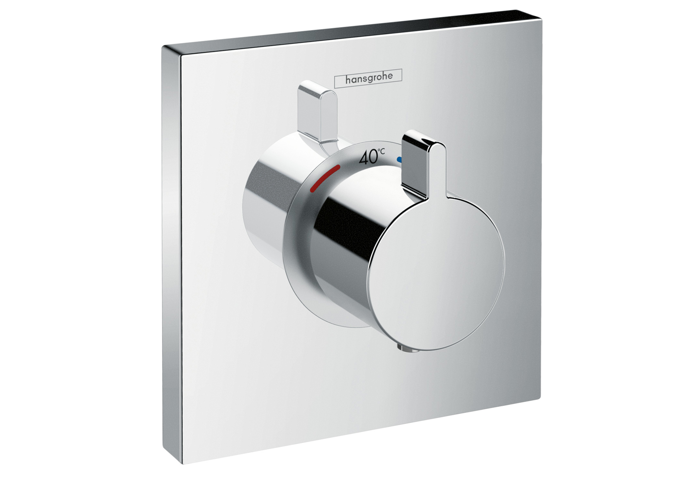 Shower Select Concealed Thermostat by Hansgrohe | STYLEPARK