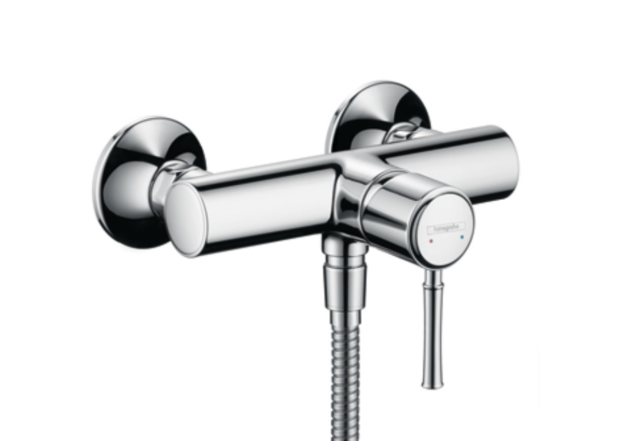 Talis Classic Single Lever Shower Mixer, DN15, for exposed installation