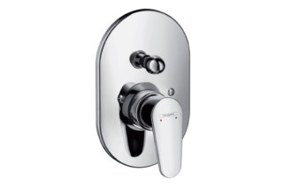 Talis E² Single Lever Bath Mixer, for concealed installation, oval version  by  Hansgrohe