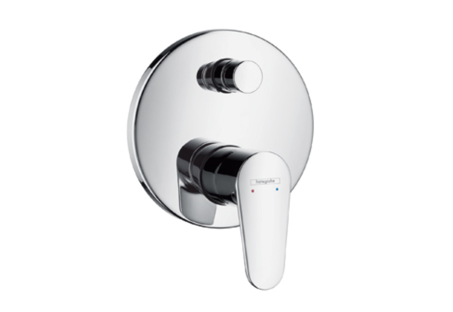 Talis E² Single Lever Bath Mixer, for concealed installation