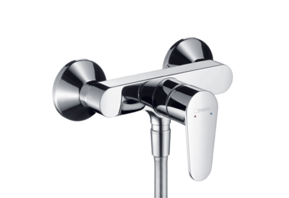 Talis E² Single Lever Shower Mixer, DN15, for exposed fitting