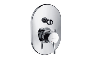Talis S Single Lever Bath Mixer, for concealed installation, DN15, oval version  by  Hansgrohe