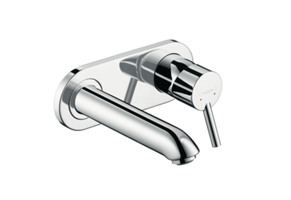 Talis Single Lever Basin Mixer, DN15, for concealed installation, spout 165mm