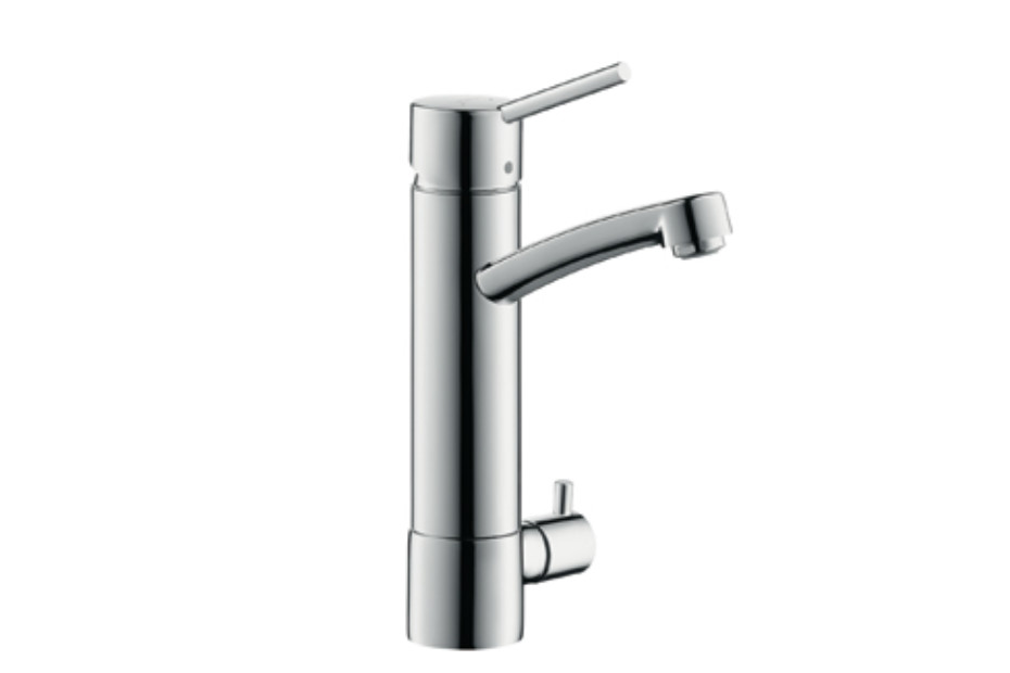Talis Single Lever Kitchen Mixer, DN15, with device shut-off valve