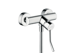 Talis Single Lever Shower Mixer, DN15, with extra long handle  by  Hansgrohe