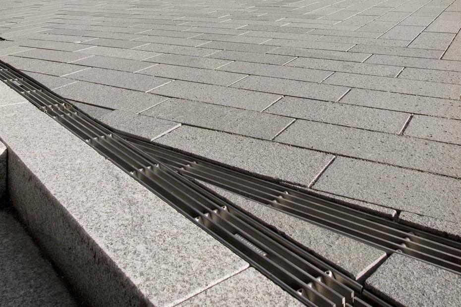 Faserfix®Super drain, Mercedes Benz museum, Stuttgart