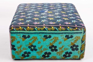 Antique Quilt Ottoman  by  HAY