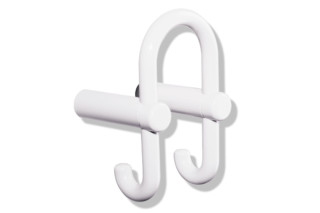HEWI double coat hook 801.90.030 Range 801  by  HEWI