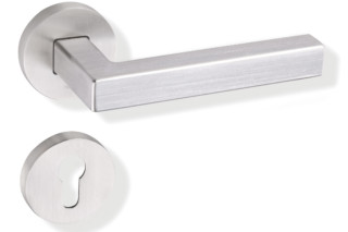 Standard door fitting stainless steel satin  by  HEWI