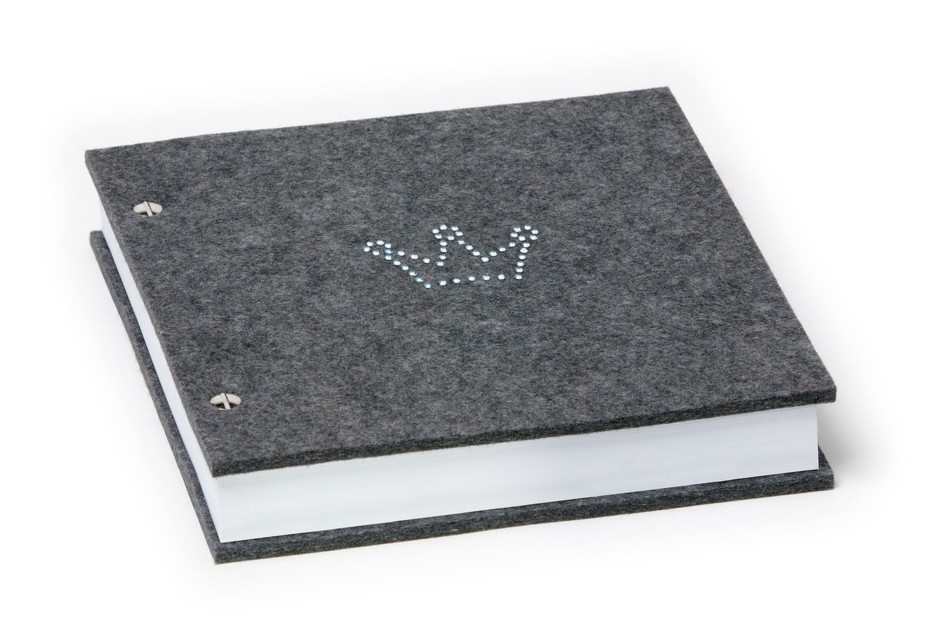Notebook crown