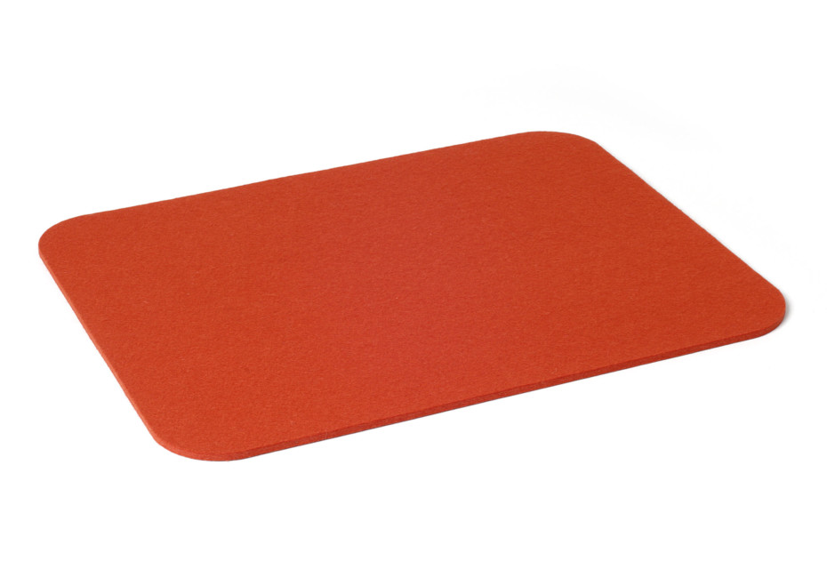 Placemat with rounded corners