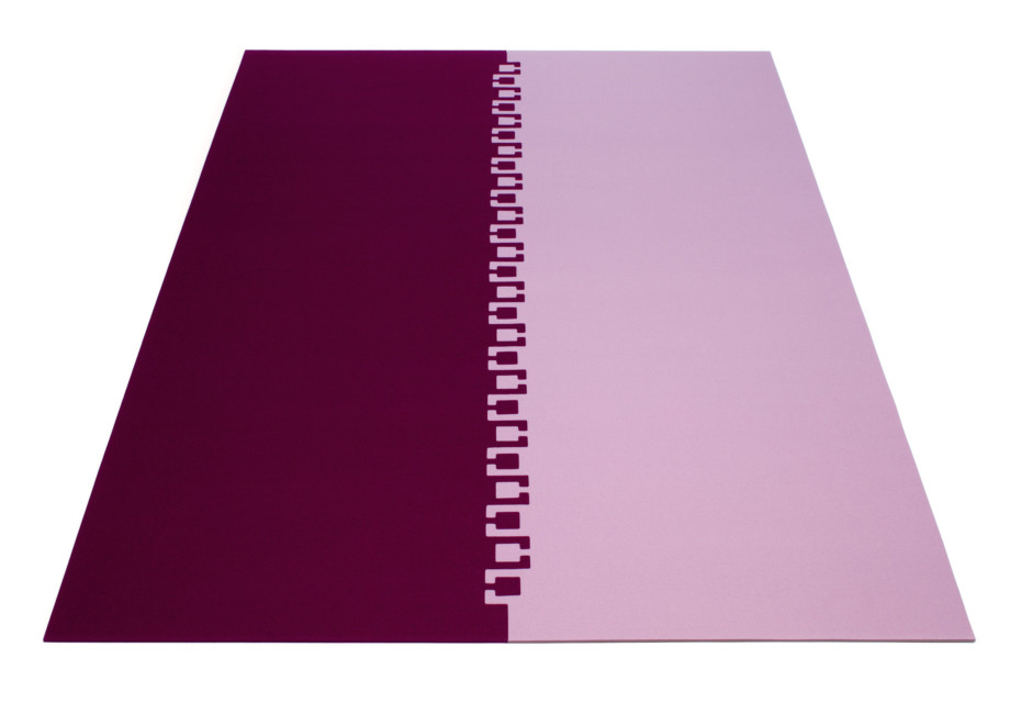 Twice rug system 2 parts