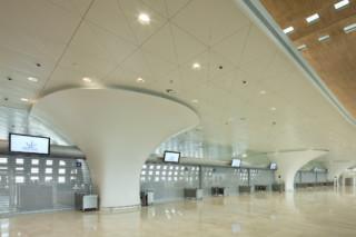 clads terminal 2F, Charles de Gaulle Flughafen, Paris  von  HI-MACS®