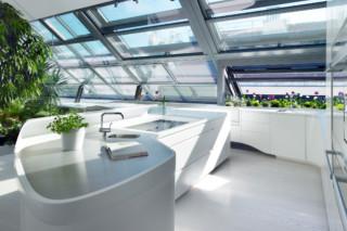 Kitchen area for Loft 1010 – Vienna, Austria  von  HI-MACS®
