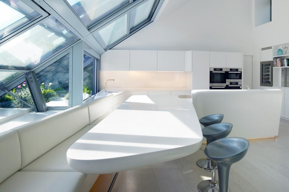 Kitchen area for Loft 1010 – Vienna, Austria