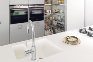 Solid Alpine White, IT-IS in the Kitchen  by  HI-MACS®