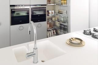 Solid Alpine White, IT-IS Kücheneinrichtung  von  HI-MACS®