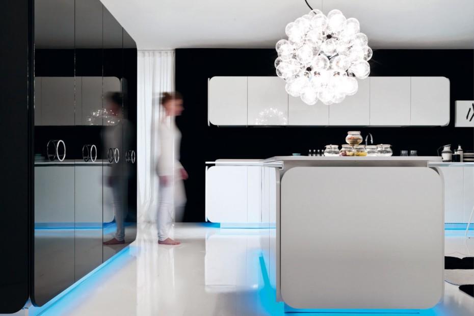 Solid Alpine White, IT-IS Kücheneinrichtung