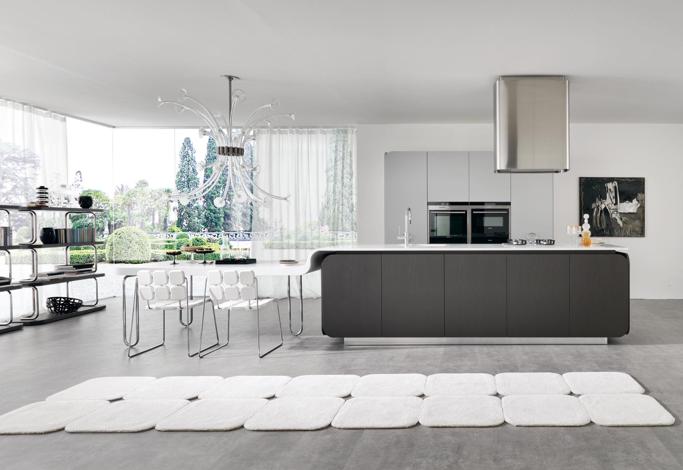 Solid Alpine White, IT-IS in the Kitchen by HI-MACS® | STYLEPARK