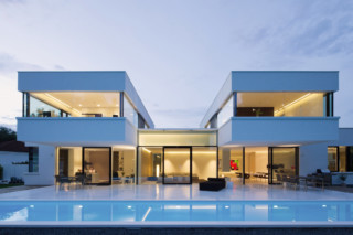 Solid, Alpine White, Private house, Bavaria  by  HI-MACS®