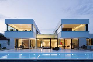 Solid Alpine White, Privat Haus, Bavaria  von  HI-MACS®