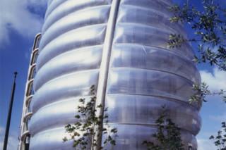 ETFE Folien, 3-lagige Kissenkonstruktion, Space Center  von  Hightex