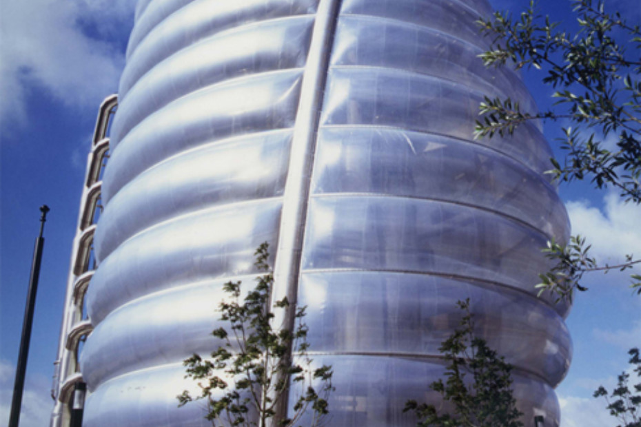 ETFE foil, 3-layer-cushion, Space center