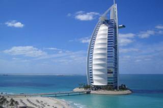 PTFE-coated glass fabric, Burj Al Arab  by  Hightex