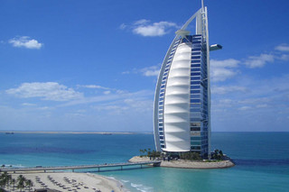 PTFE-coated glass fabric, Burj Al Arab  by  Hightex