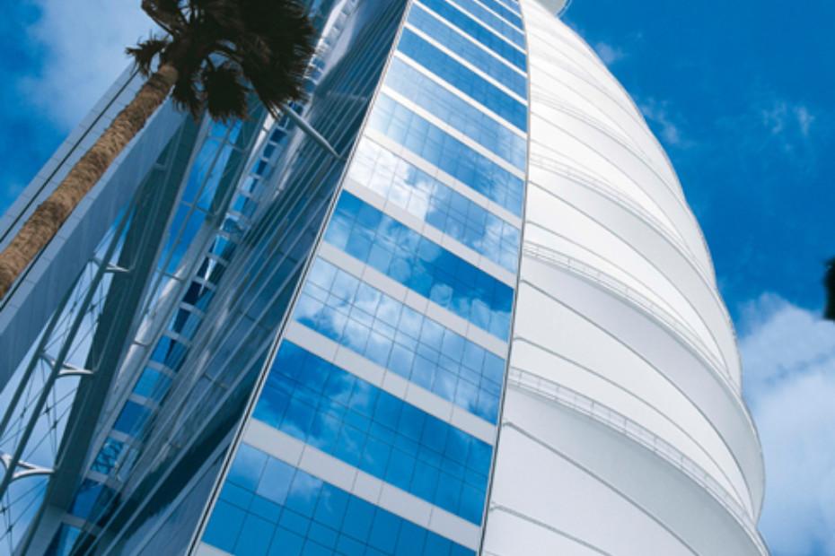 PTFE beschichtete Glasfaser, Burj Al Arab