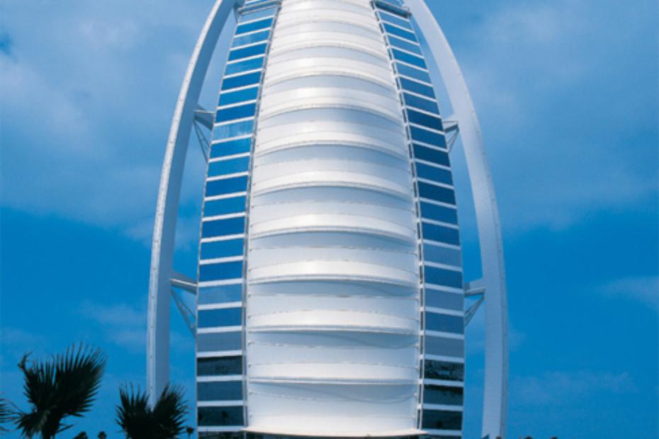 PTFE-coated glass fabric, Burj Al Arab by Hightex | STYLEPARK