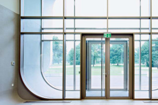 Multipurpose glass door  by  Hörmann