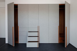 Built in wardrobes w7a  by  Holzrausch