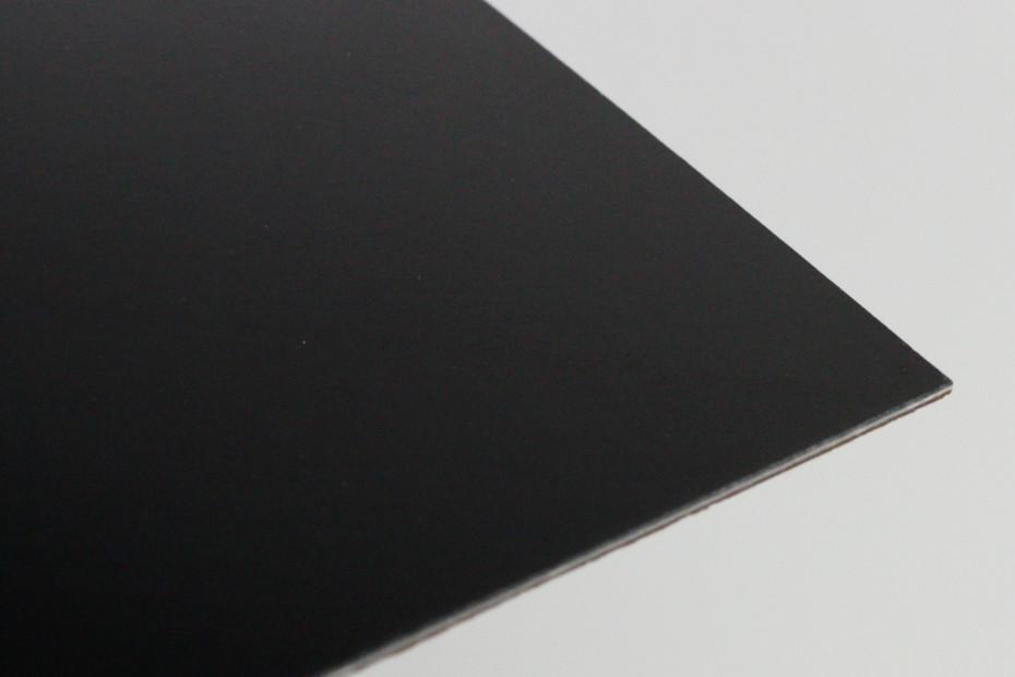Magnetic board 8204 black glossy (boardmarker)