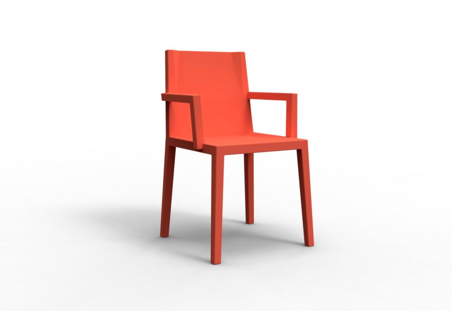 Scale armrests
