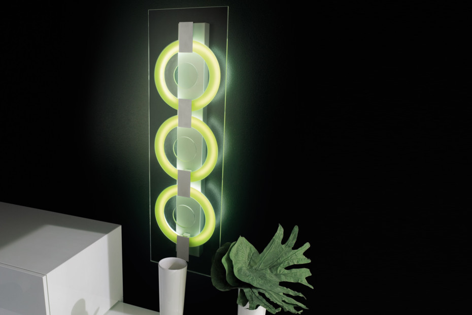 Wall Mounted Inspection Lamp : O-Sound 3 Wall- Ceiling light by I Tre STYLEPARK