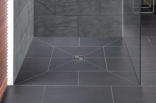 Bodenebenes Duschsystem Poresta BF 70  von  illbruck