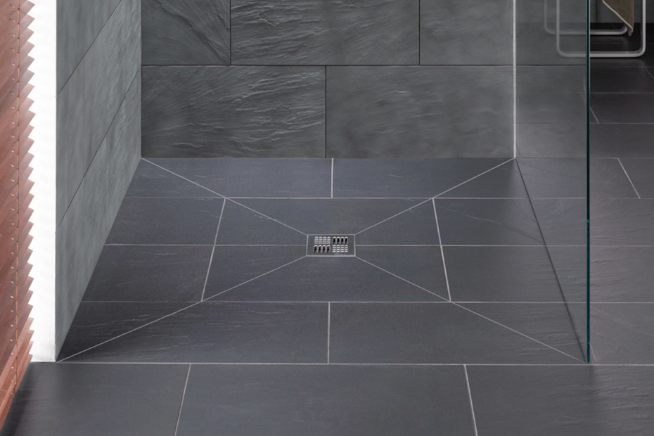 Floor level shower system Poresta BF 70
