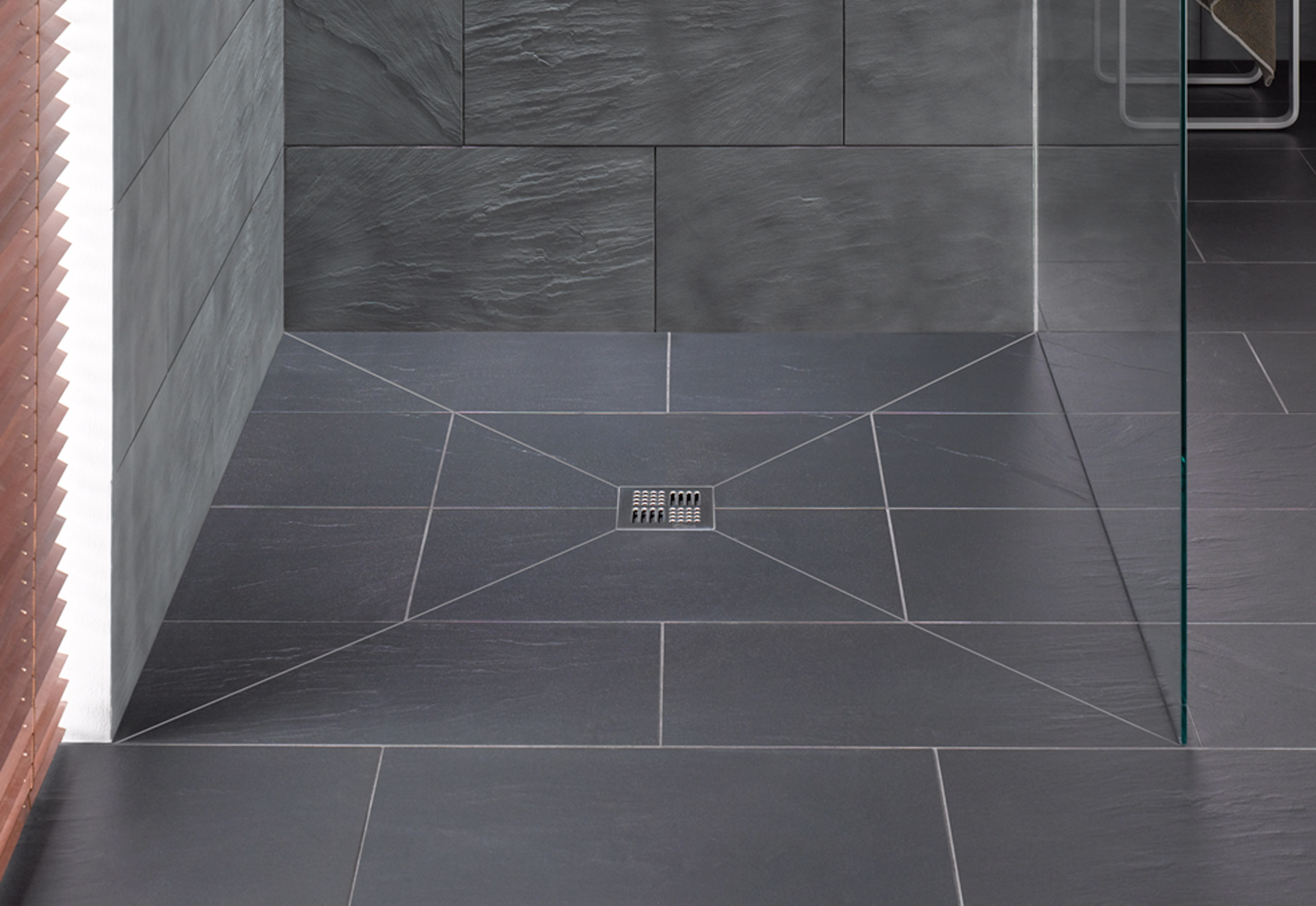 Floor Level Shower System Poresta Bf 70 By Illbruck