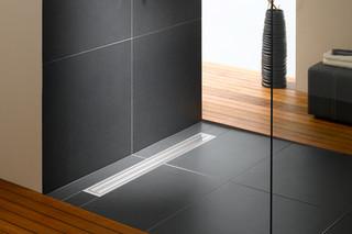 Bodenebenes Duschsystem Poresta BFR Universalrinnenboard  von  illbruck