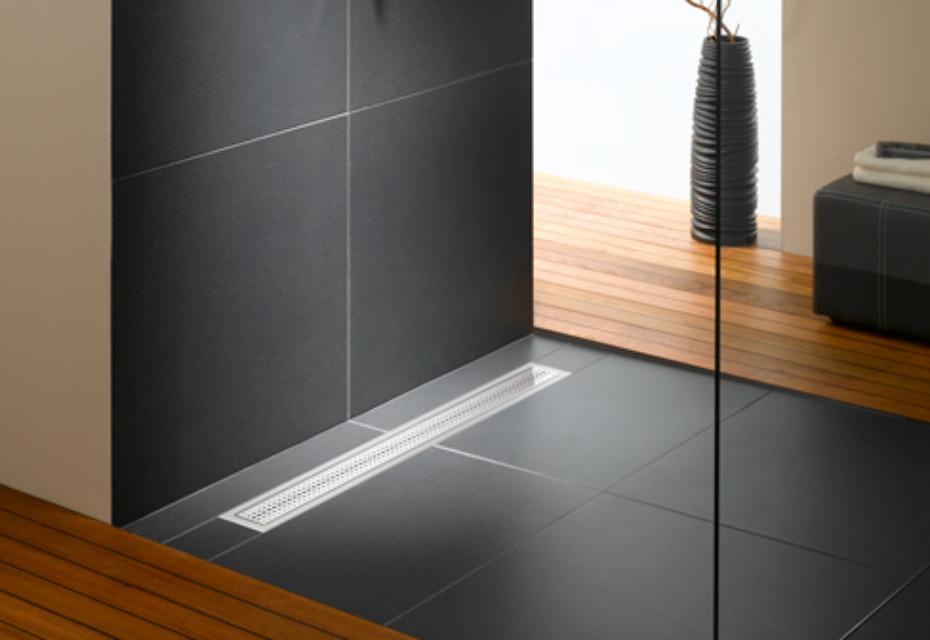 Floor-level shower system Poresta BFR universal drain board