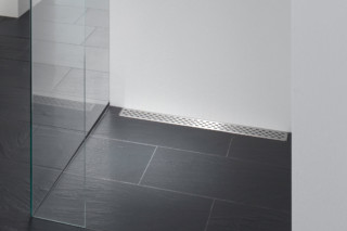 Floor-level shower system Poresta Limit S  by  illbruck