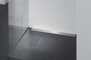 Floor-level shower system Poresta Limit S  by  illbruck