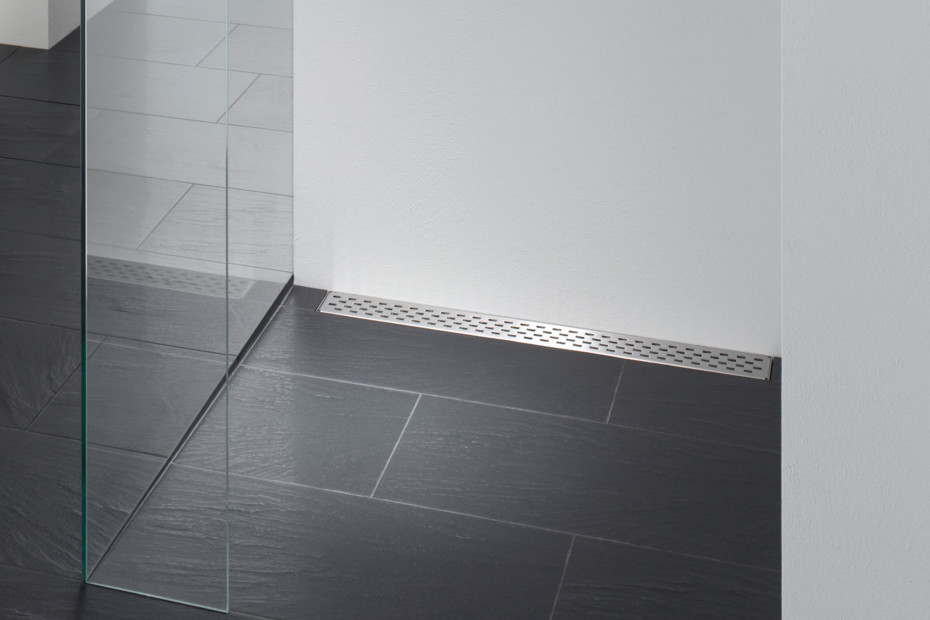 Floor-level shower system Poresta Limit S