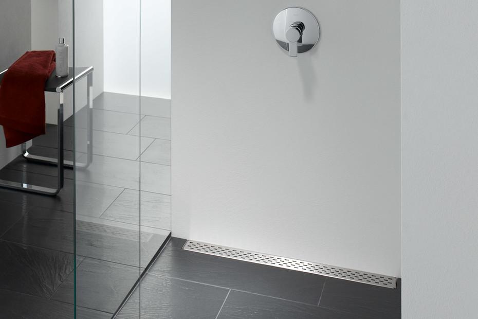 Floor-level shower system Poresta Limit S