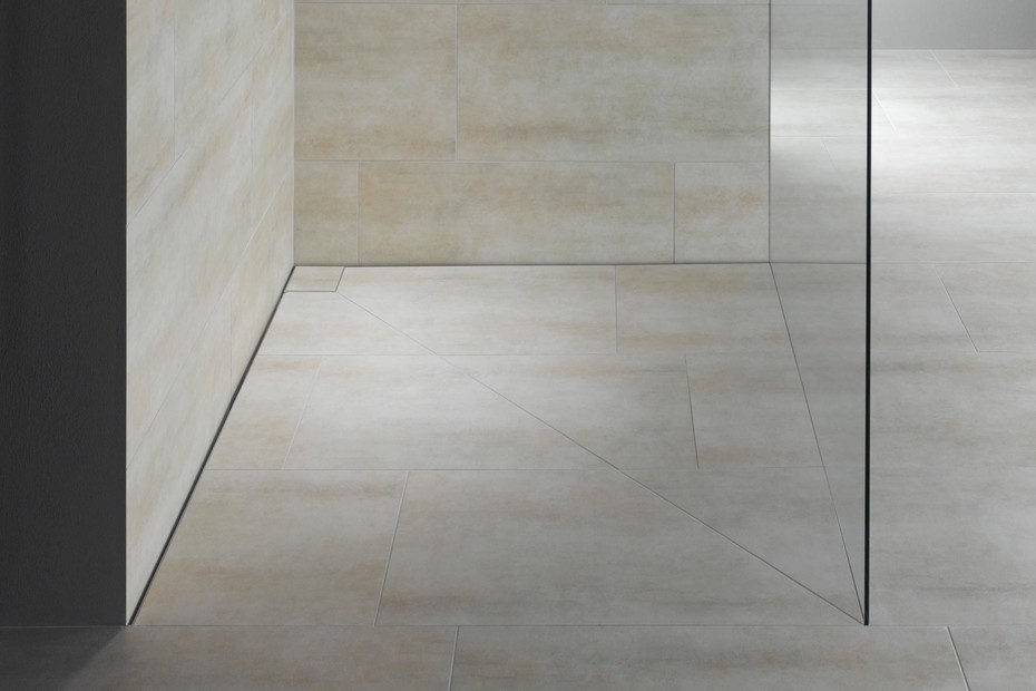 Floor-level shower system Poresta Slot