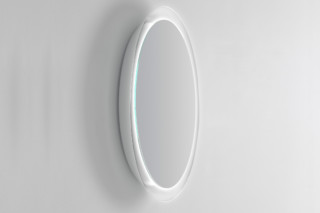 BOWL mirror with lighting  by  Inbani
