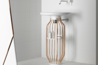 BOWL vanity unit copper  by  Inbani