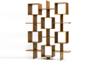 Enam shelf upright format  by  INCHfurniture
