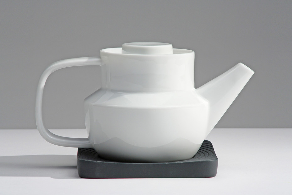 Huellas tea pot